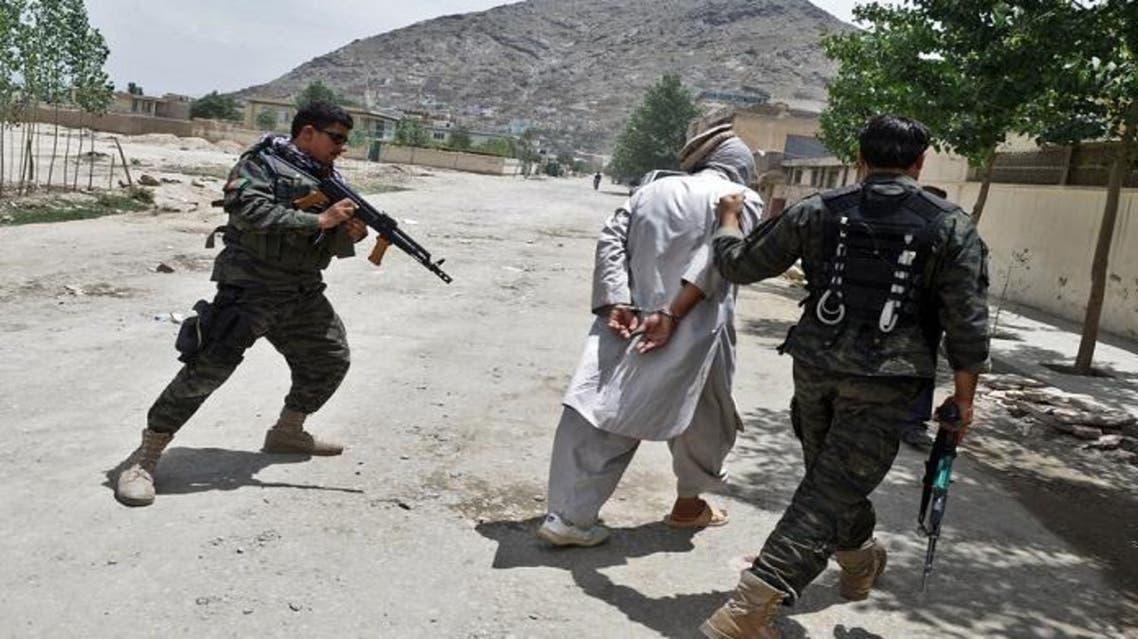 بازداشت یک تن که قصد حمله انتحاری در کابل افغانستان داشت