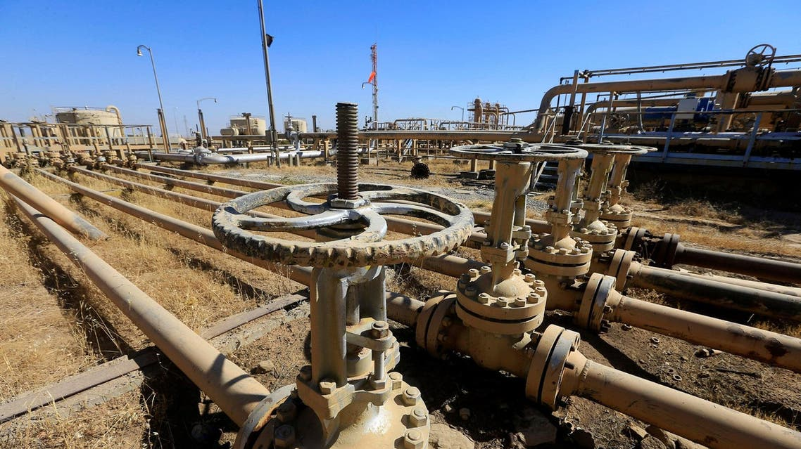 An oil field is seen in Dibis area on the outskirts of Kirkuk, Iraq October 17, 2017. (Reuters)