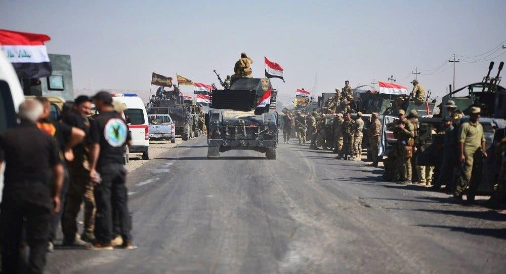 القوات العراقية تتقدم نحو كركوك