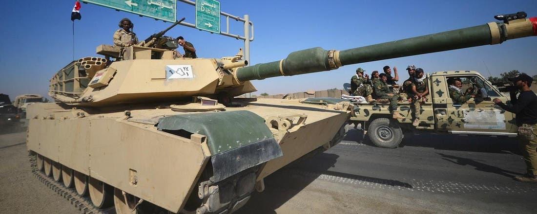 القوات العراقية تستعيد آخر البلدات من البشمركة في كركوك