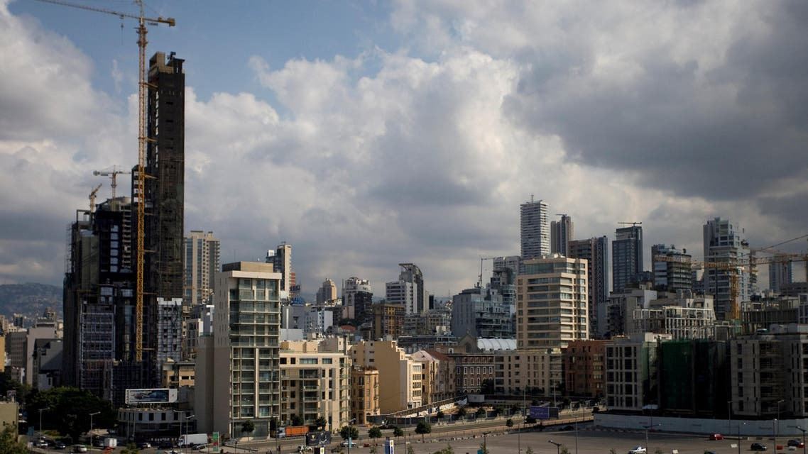 A general view of downtown Beirut, Lebanon October 14, 2017. reuters