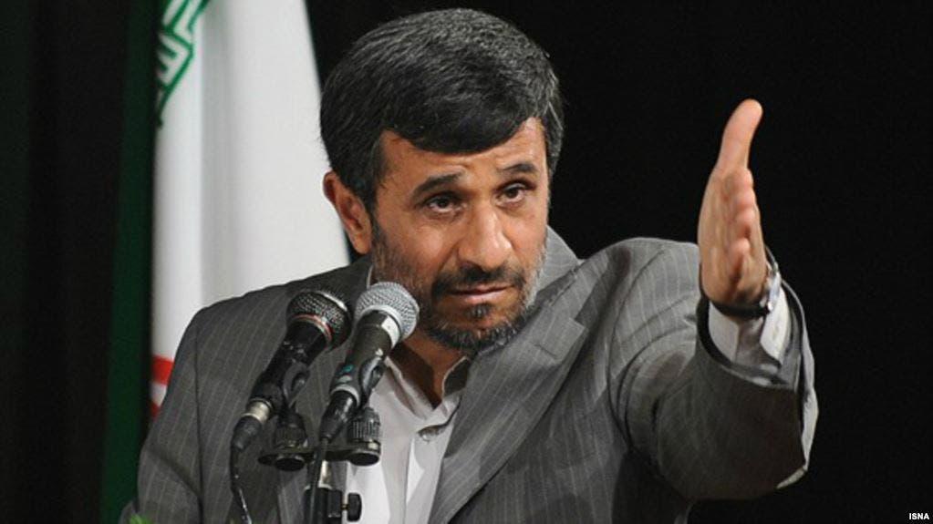 الرئيس الإيراني الأسبق أحمدي نجاد