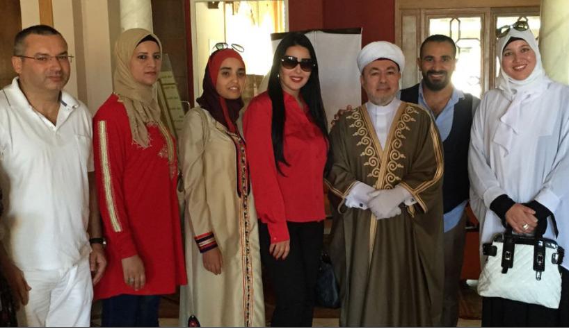 أحمد سعد وسمية خشاب في تونس