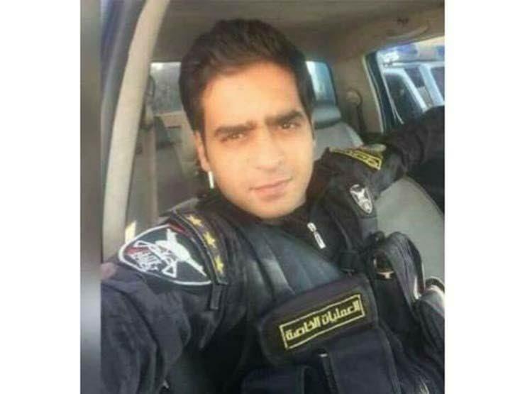 النقيب إسلام مشهور أحد قتلى الشرطة في المواجهات