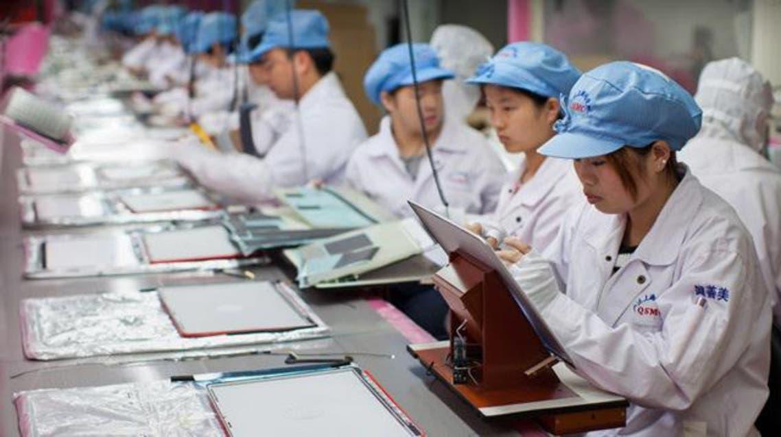 الصين مصانع عمال