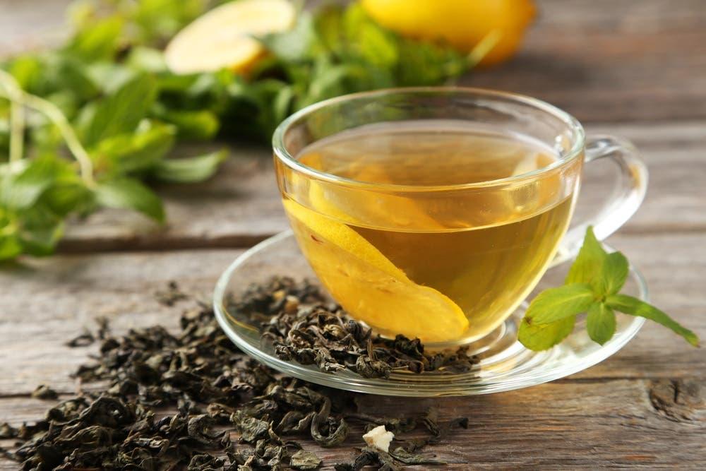 الشاي الأخضر