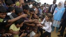 ملکہ رانیا کا بنگلہ دیش میں روہنگیا پناہ گزینوں کے کیمپ کا دورہ