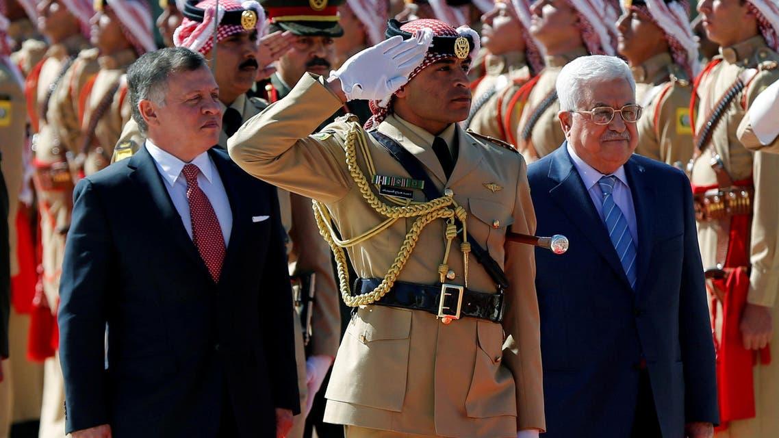 عباس في الأردن