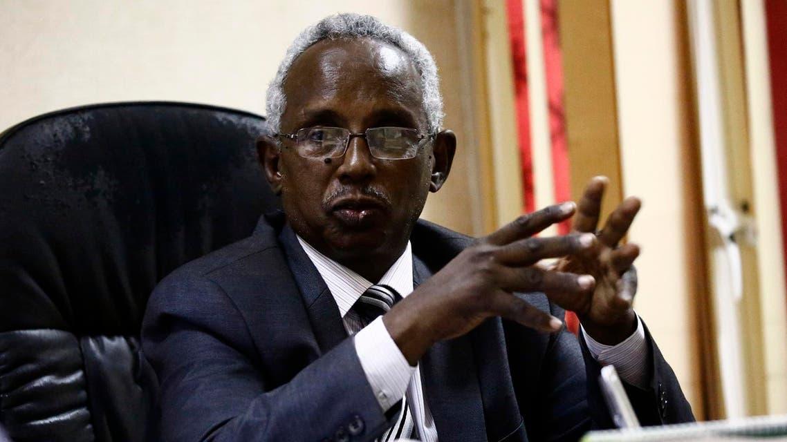Osman Mirgani, Editor of Al-Tayar Sudan (AFP)
