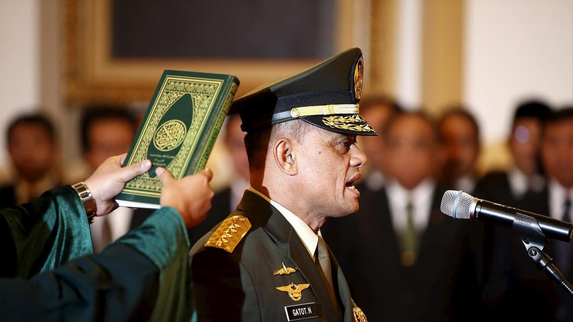 Indonoesia military chief (Reuters)