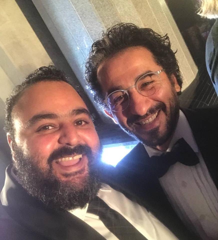 أحمد حلمي وشيكو في مهرجان جوائز السينما العربية