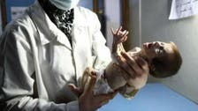 شام : دھان پان سی شیرخوار بچّی کی لاش حسرت و یاس کی تصویر