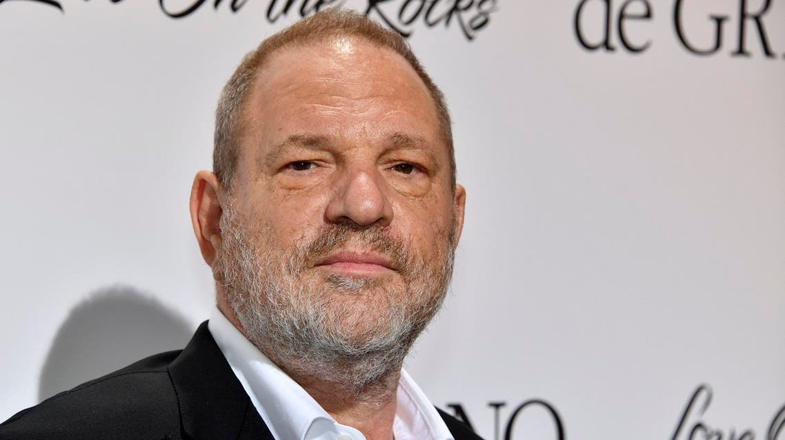 (FILES) This file photo taken on May 23, 2017 shows US film producer Harvey Weinstein attending the De Grisogono Party on the sidelines of the 70th Cannes Film Festival in Antibes, France. Weinstein, the disgraced Hollywood mogul fighting decades of sexual abuse and harassment allegations, resigned on October 17, 2017, from the board of directors of the production company he co-founded, Variety reported. (AFP)