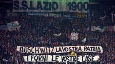 Lazio fans raise anti-Semitic banner, Anne Frank stickers