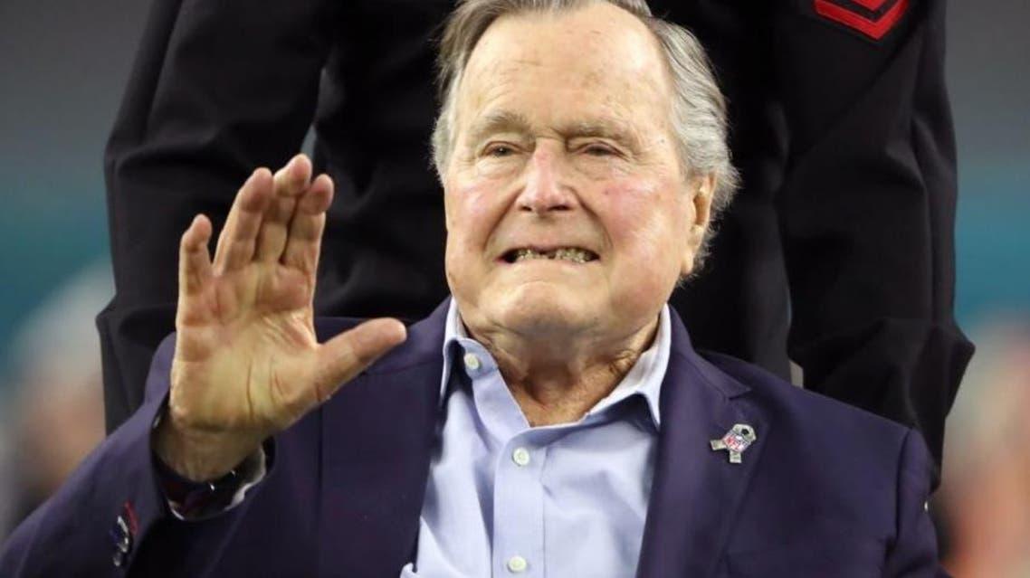 George H.W. Bush reuters