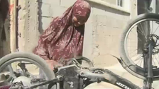 VIDEO: Meet the 73-year-old bicycle mechanic Palestinian grandmother from Nablus
