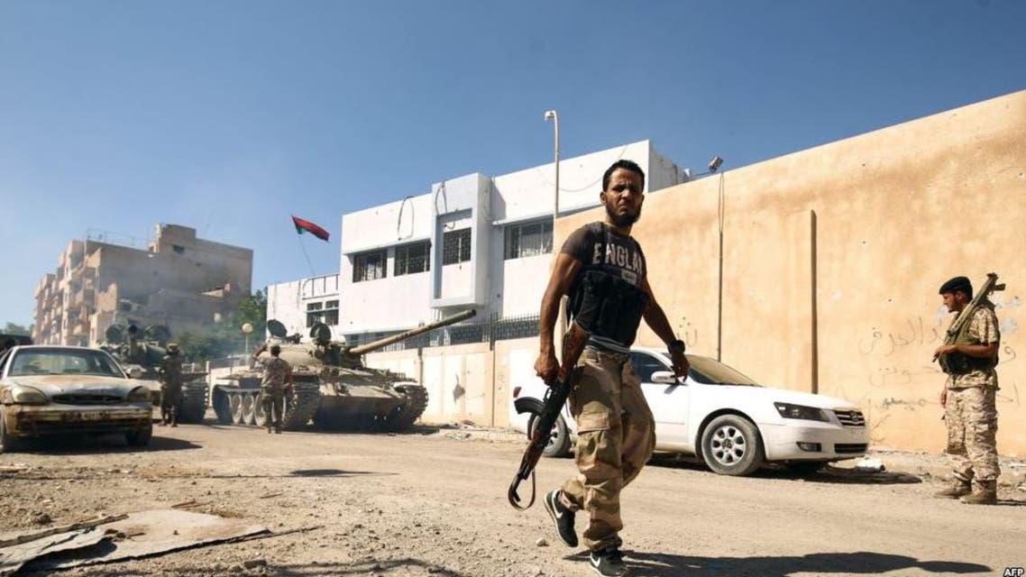 بوابة الجيش الليبي في أجدابيا تعرضت لهجوم