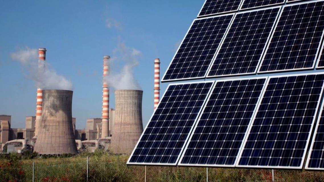 الألواح الشمسية والتلوث