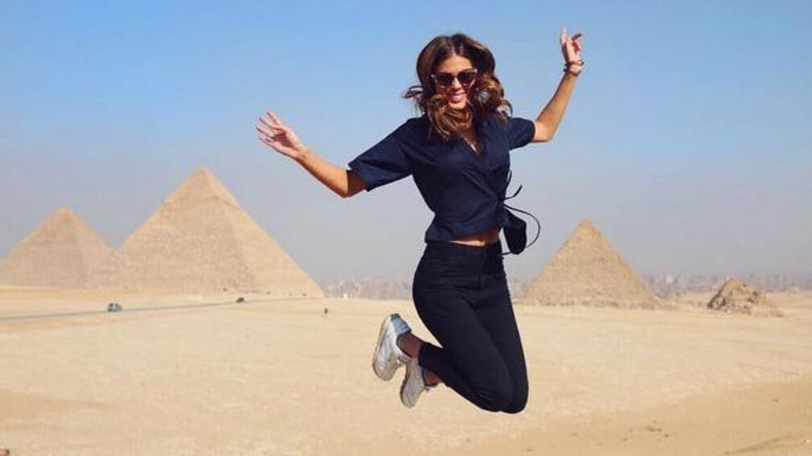 Miss Universe for year 2017, Iris Mittenaere, has been sharing pictures of herself touring around Egyptian cities on Instagram part of a visit aimed at promoting tourism in the country. instagram