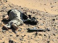 """بالصور.. اشتباكات في """"الواحات"""" بمصر ومقتل 13 إرهابياً"""