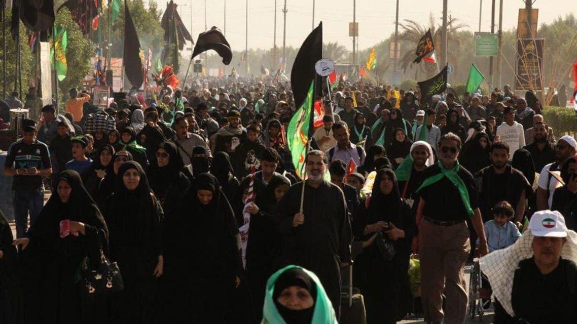 زوار إيرانيون في كربلاء