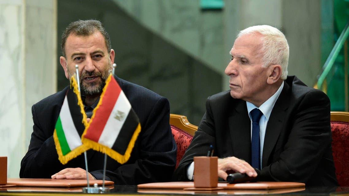 المصالحة الفلسطينية في القاهرة 12 تشرين الأول 2017