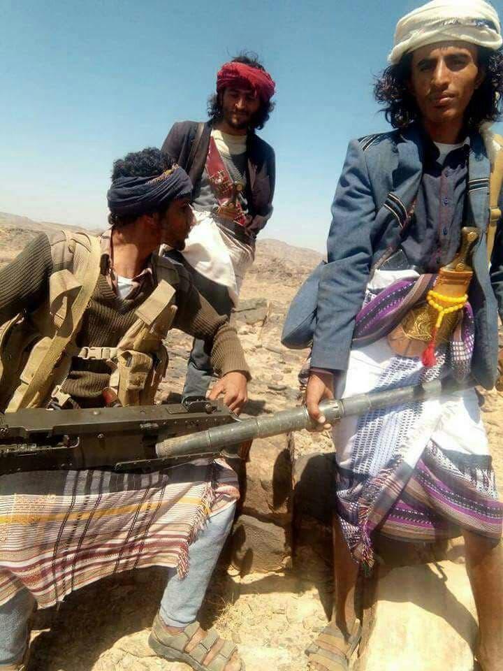 مقاتلين من قبائل آل عواض