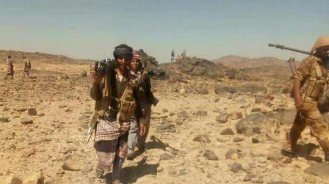 مسلحي قبائل ال عواض في جبهة القتال ضد الحوثيين
