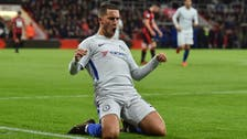 Hazard earns Chelsea narrow victory at Bournemouth