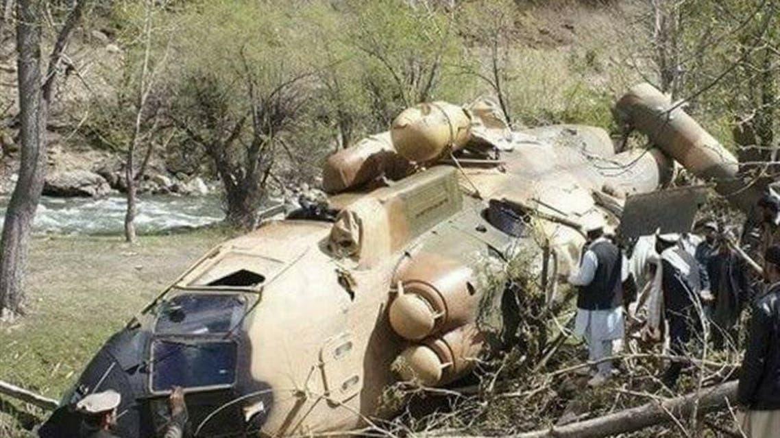 سقوط یک هلیکوپتر نیروهای ناتو در لوگر افغانستان
