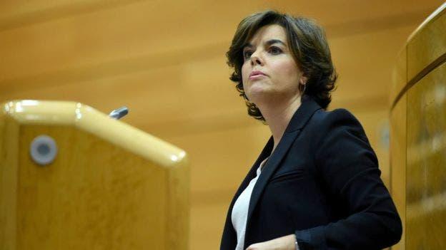 ثریا سانز دوسانتاماریا، معاون نخست وزیر دولت مرکزی اسپانیا