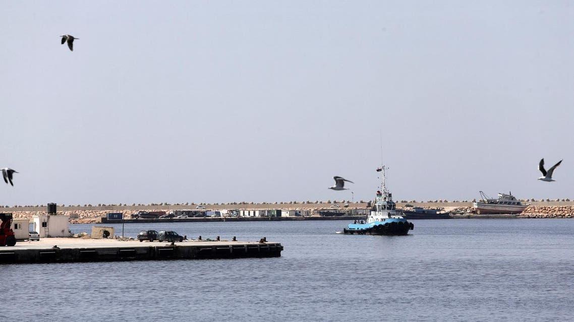 Benghazi port, Libya, October 3, 2017.  (Reuters)