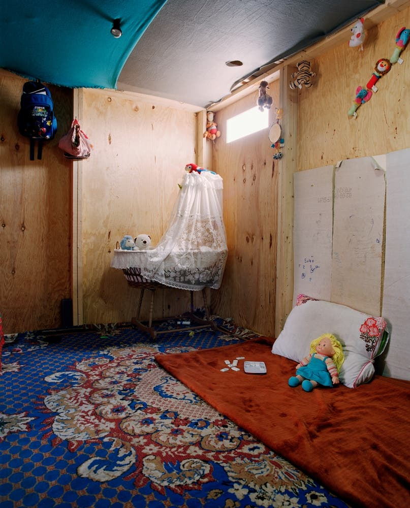 A CHild's room in Iraq (MSF)