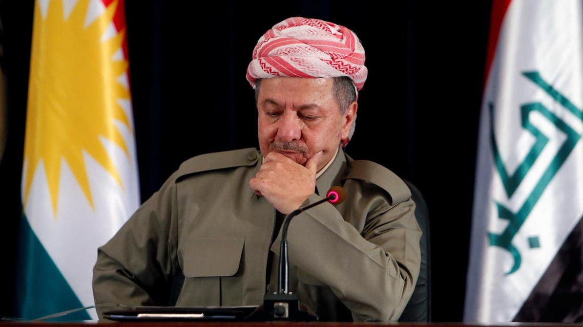 Iraqi Kurdistan's veteran leader Masoud Barzani will not extend his presidential term beyond Nov. 1. (Reuters)