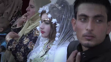 VIDEO: Lipstick, mixed dancing at first Raqqa wedding since ISIS