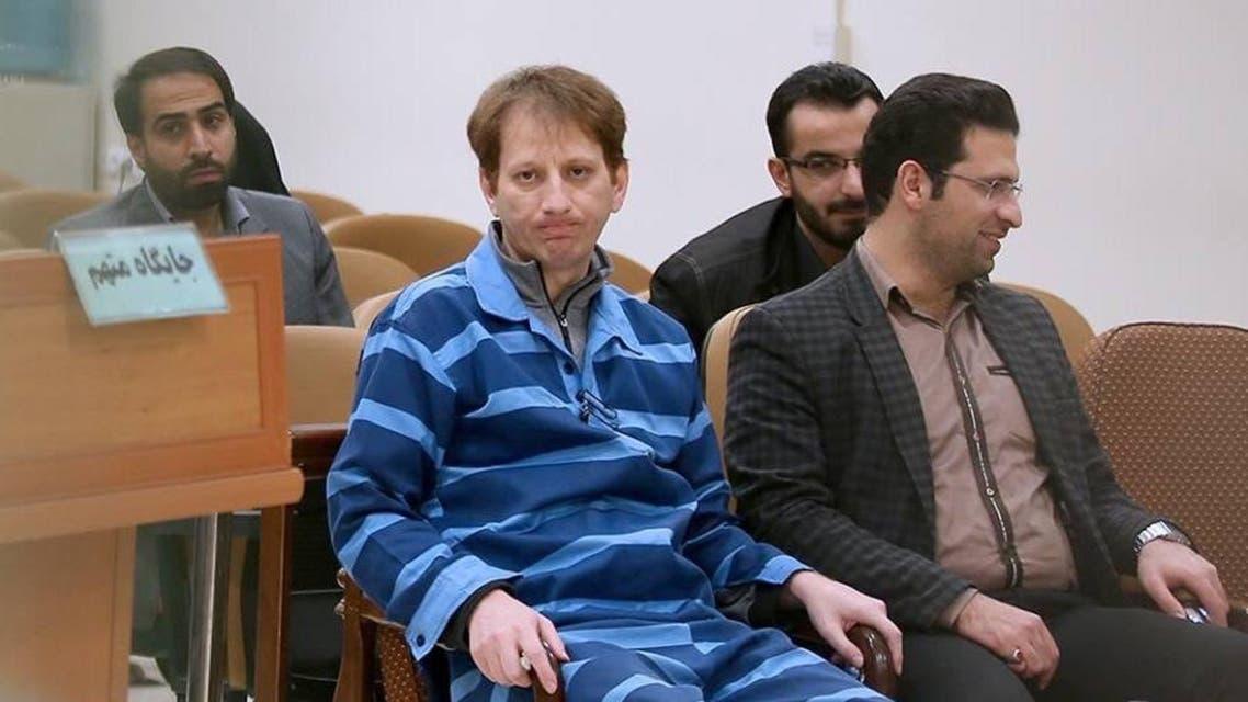 احدى جلسات محاكمة بابك زنجاني