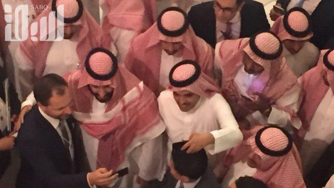 saudi crown prince mohammed bin salman selfie