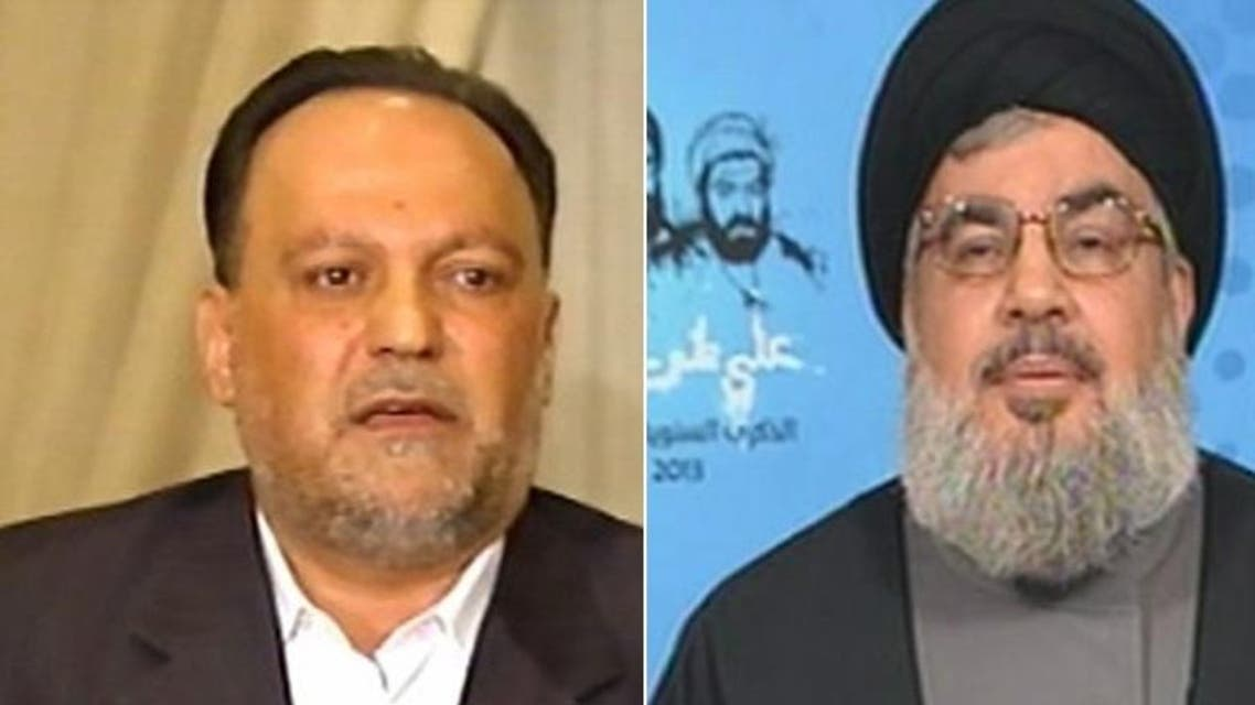 """Referring to the war in July 2006, Ammar said that when he kissed Nasrallah's shoe, """"his master"""" as he called him as he felt that he was """"no longer a commoner but a man among the kings"""". (File photos)"""