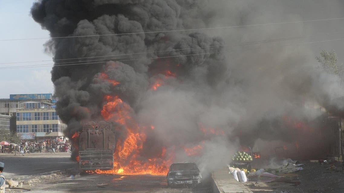 انفجار در مسجدی پلخمری افغانستان