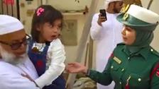 دبئی پولیس نے معصوم بچی کا پولیس سے خوف کیسے دور کیا؟