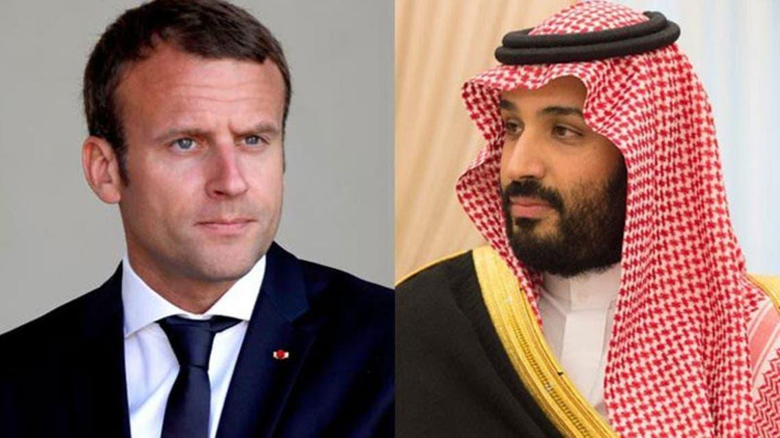محمد بن سلمان و ماكرون