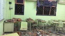 الحوثيون ينتهكون حرمة المدارس بنجران بعدة مقذوفات
