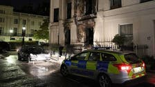 Egyptian socialite's $5.3 mln London home lost in flames