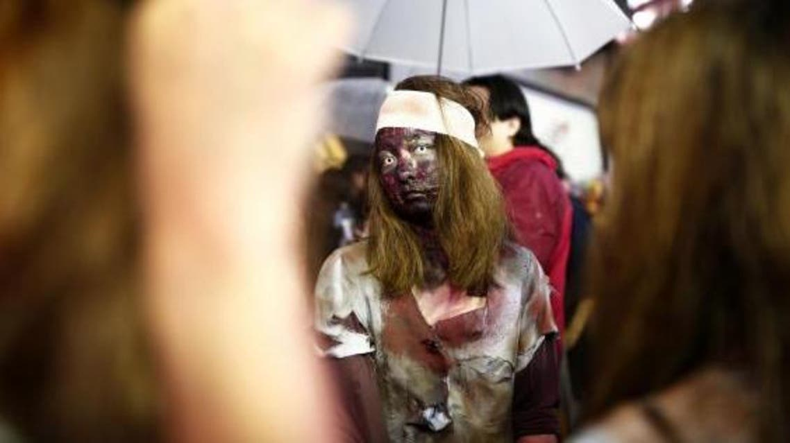 Local authorities have concocted a cunning Halloween plan to try to lure new residents to Kosuge. (AFP)