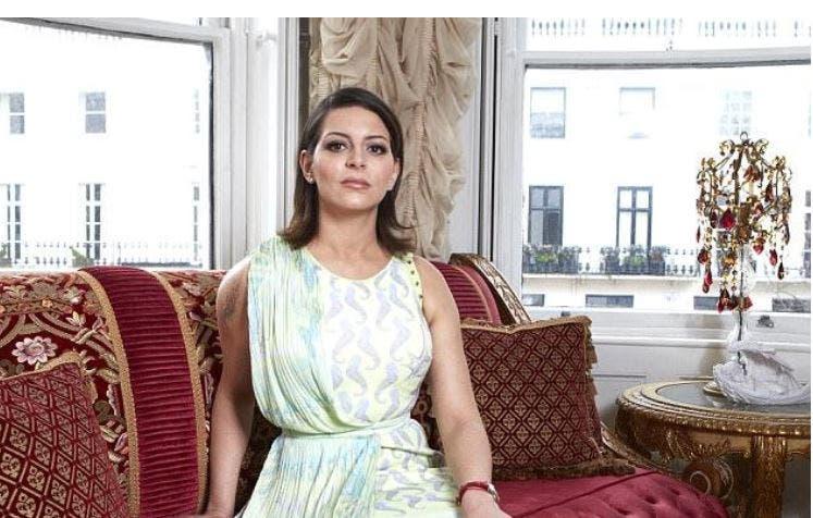 صاحبة القصر المصرية نيفين الجمال