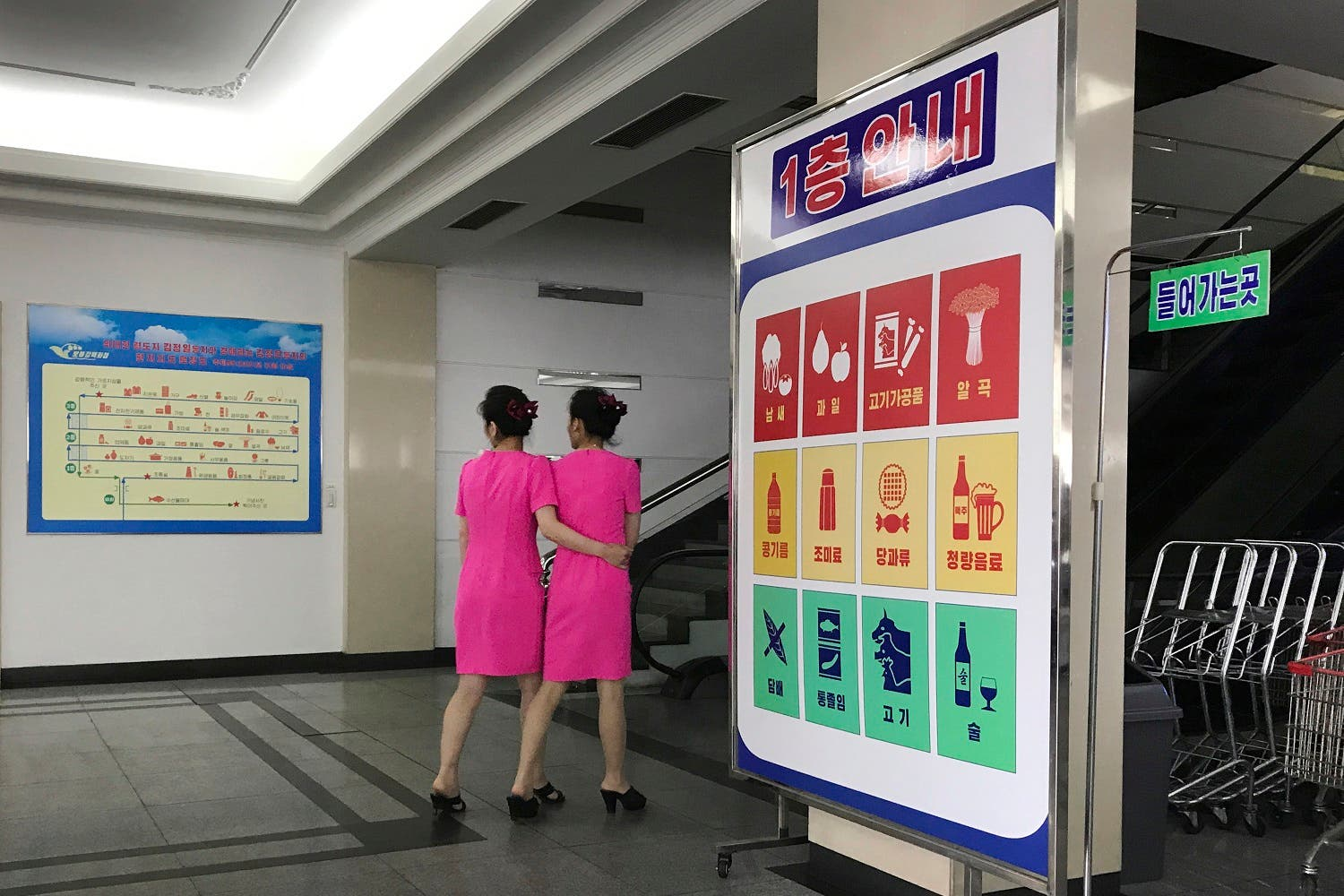 North Korea republic of Kim: The new consumerism