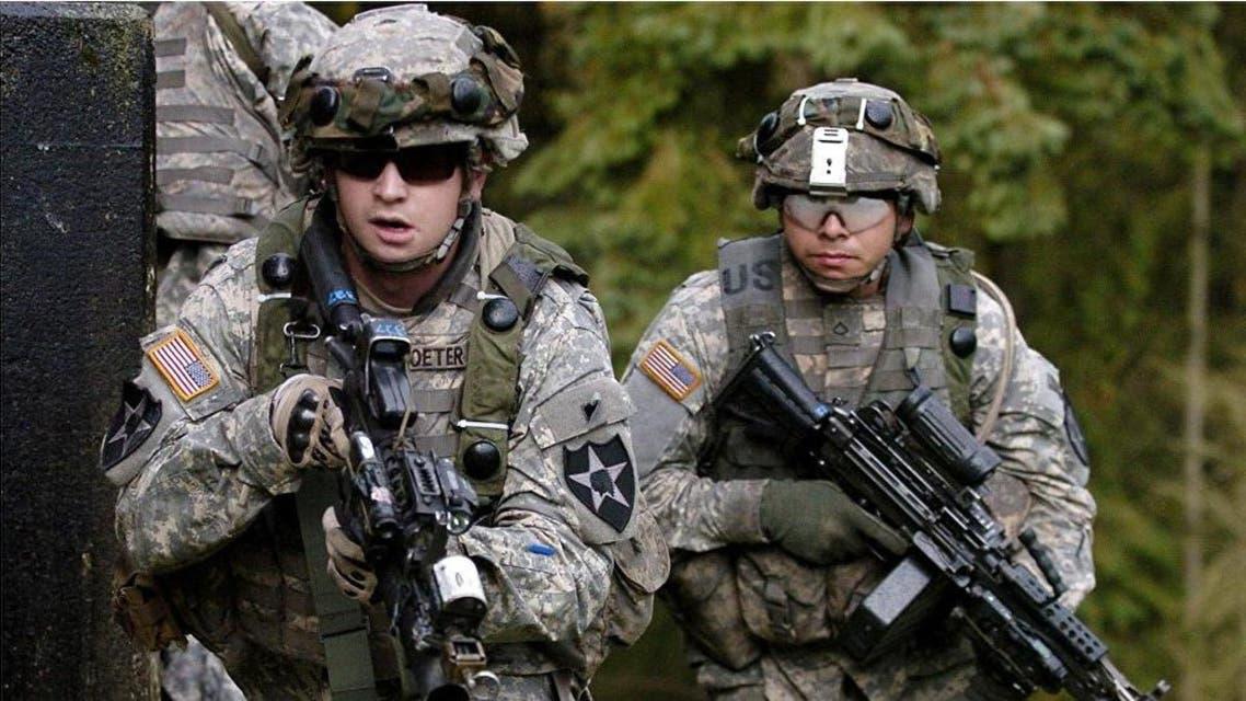 عنصران من القوات الأميركية