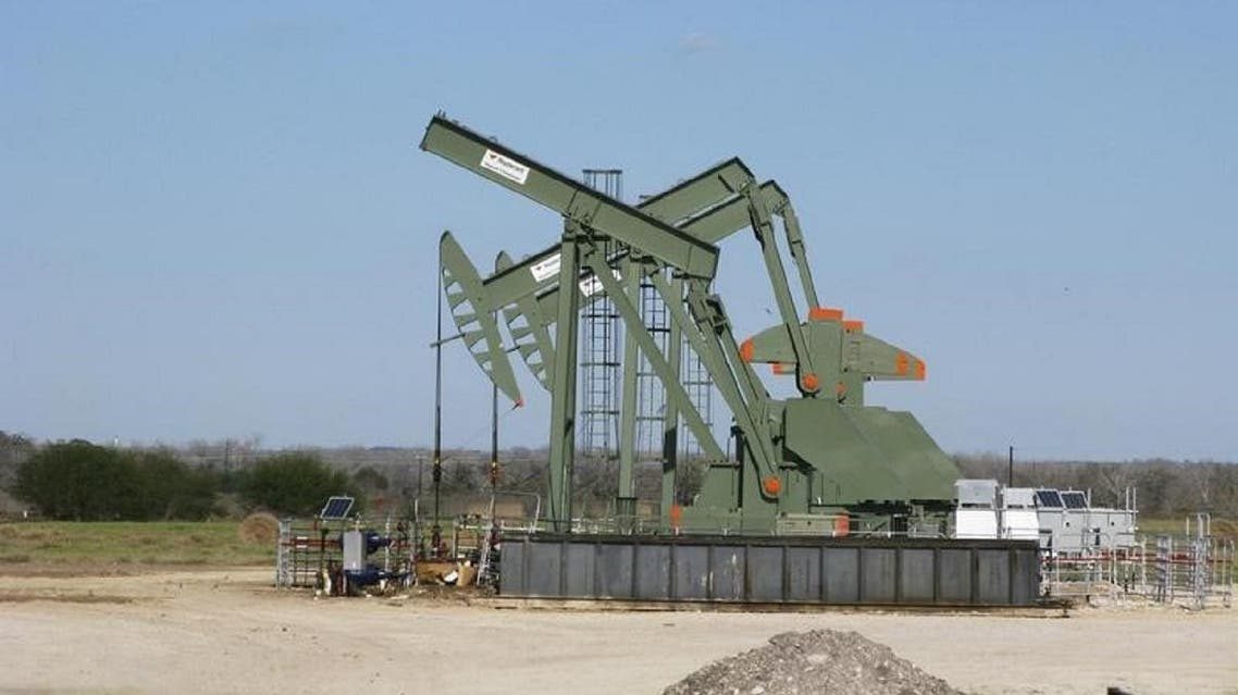Oil pumping operation at a Texas field, in the United States. (File photo: Reuters)