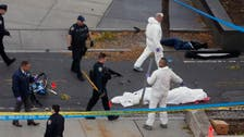 VIDEO: New York terror suspect trying to escape