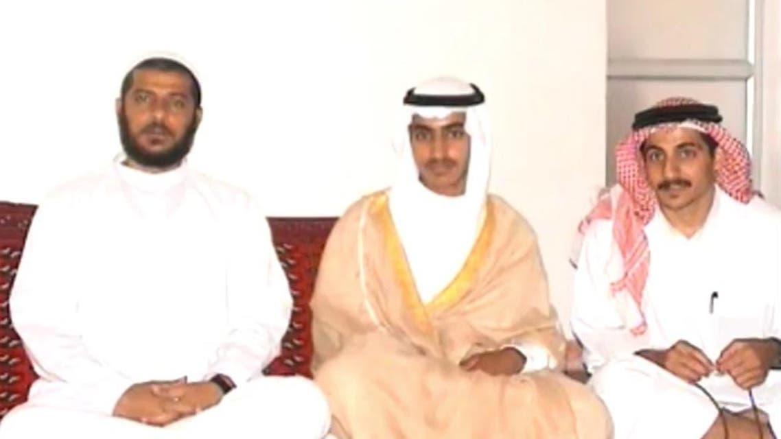 حمزة بن لادن وسط